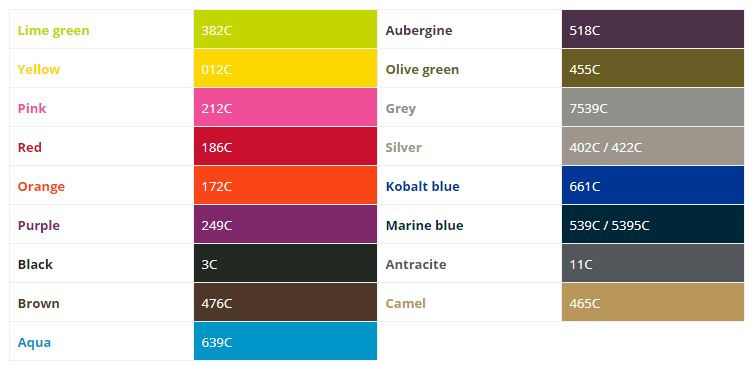 Standardfarben Sitzsäcke mieten